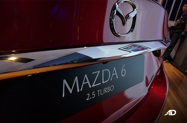 Mazda6 2.5L Turbo