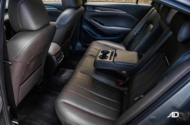 Mazda6 sedan interior