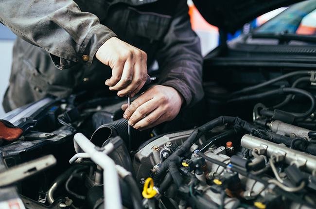 Mechanic Servicing