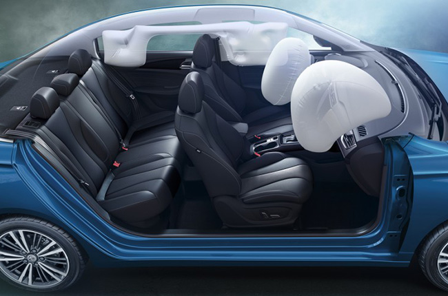 MG 5 Airbags