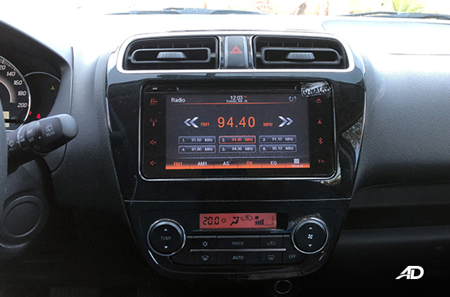 Mitsubishi Mirage Head Unit