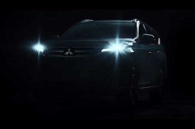 Mitsubishi Montero Sport Front end