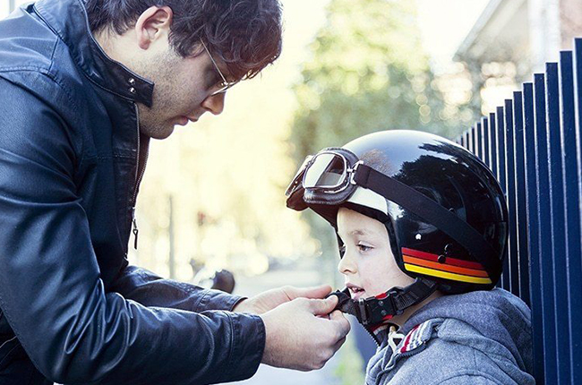 Motorcycle Helmet for Children