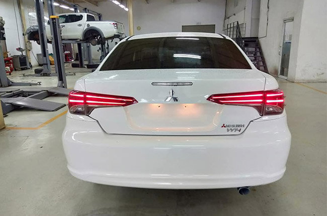 mystery sedan rear