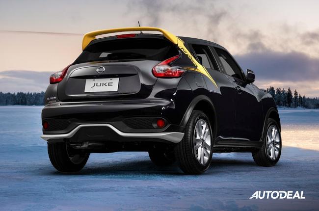 Nissan Juke N-Sport 2019 rear