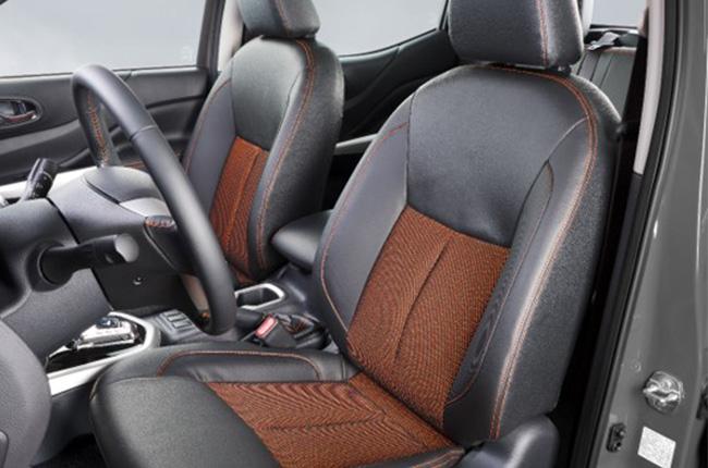 Nissan Navara Black Edition Interior Front Driver & Passenger