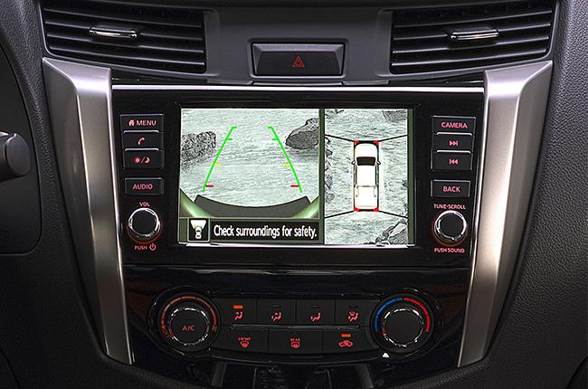 Nissan Navara Infotainment
