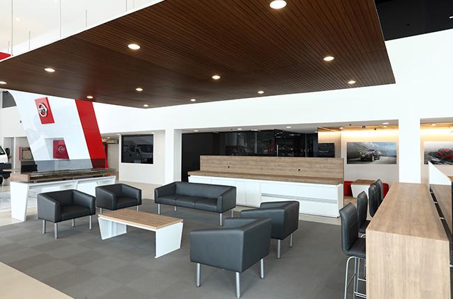 Nissan Sumulong Customer Lounge