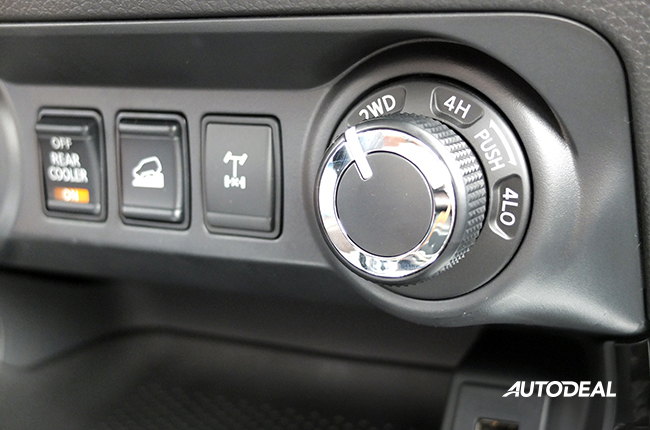 Nissan Terra 4x4 modes