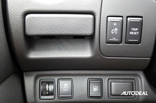 Nissan Terra Buttons