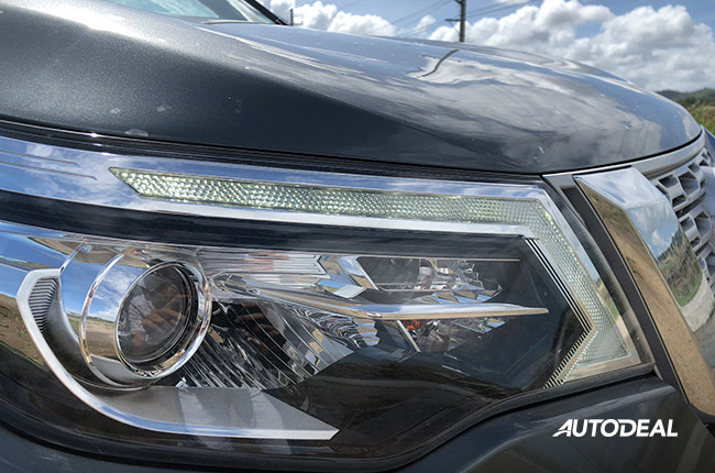 Nissan Terra Headlights