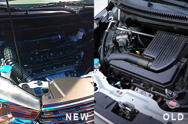 Old Ertiga engine vs New Ertiga engine
