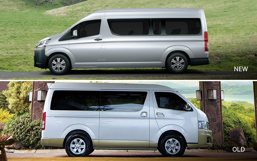 Old vs 2019 Toyota Hiace
