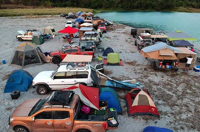 Overland Xpo campsite