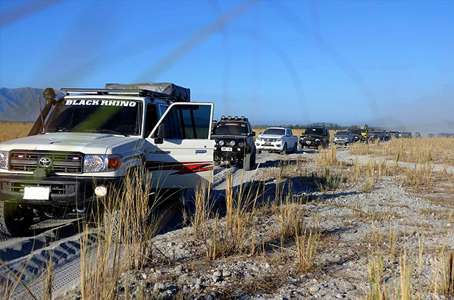 Overland Xpo convoy