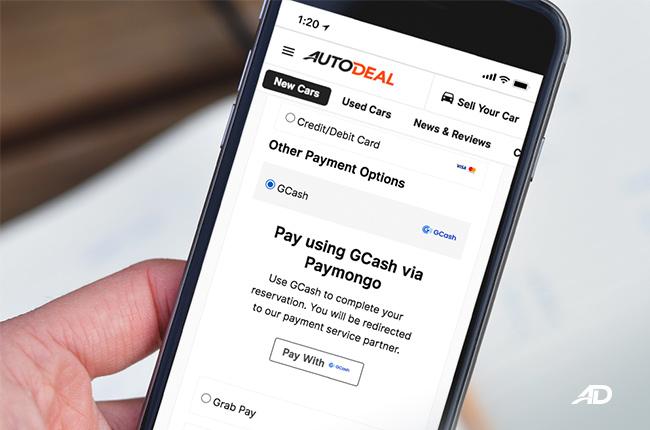 PayMongo X AutoDeal Partnership online payments