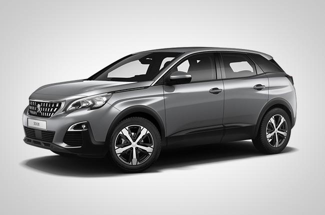 Peugeot 3008 Grey