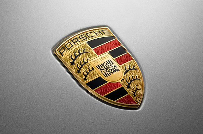 Porsche QR Code logo