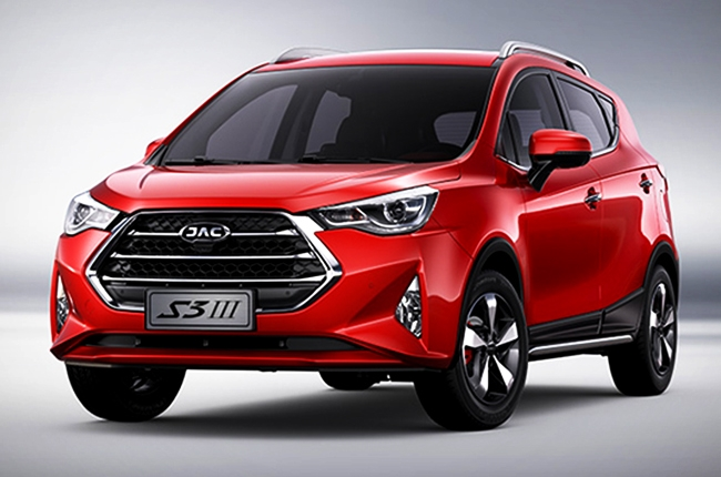 Red JAC S3