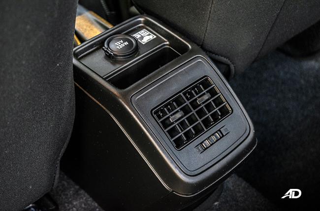 Suzuki Dzire interior