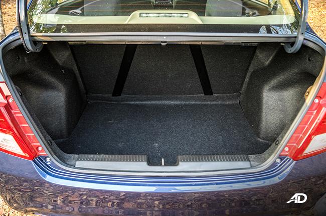 Suzuki Dzire trunk
