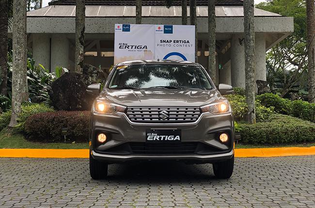 Suzuki Ertiga First Impressions Exterior