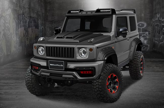 Suzuki Jimny Black Bison Edition front