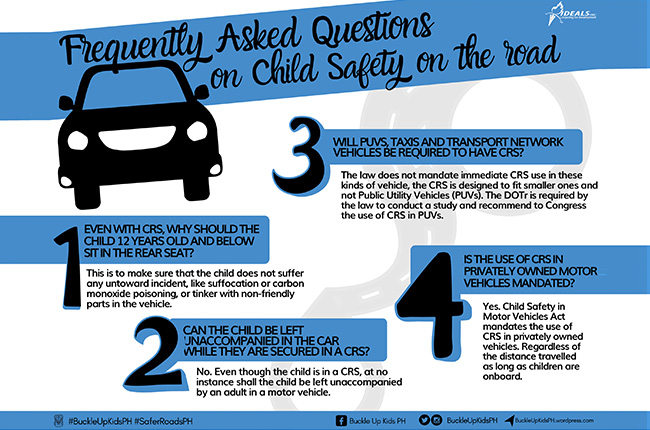 Things you need to know about Child Safety in Motor Vehicles Act