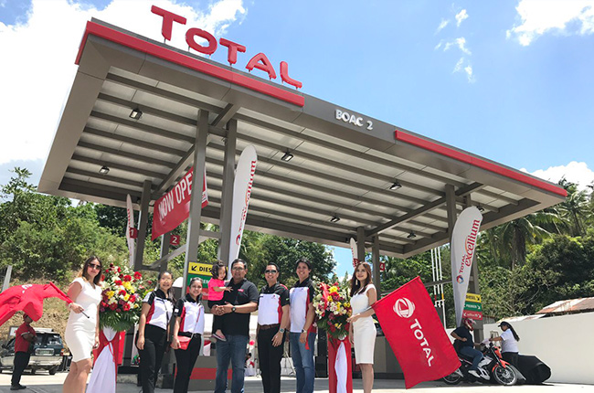 Total Boac opening