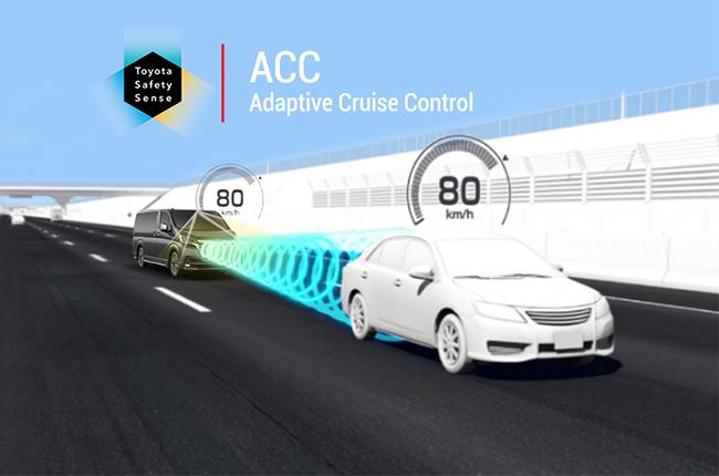 toyota adaptive cruise control