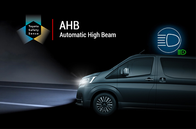 Toyota Automatic High beam dimmer