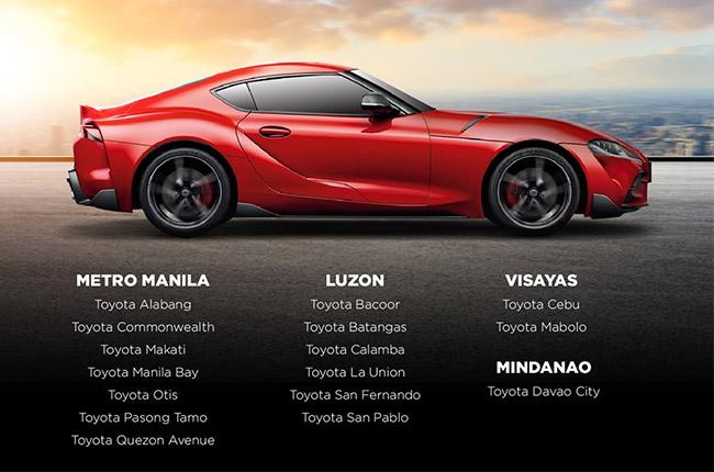 Toyota GR Dealerships Philippines
