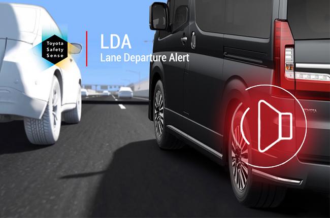Toyota Lane Departure system