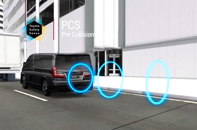 Toyota pre-collision system