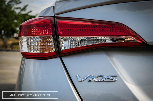Toyota Vios Rear Badge and Tail Light