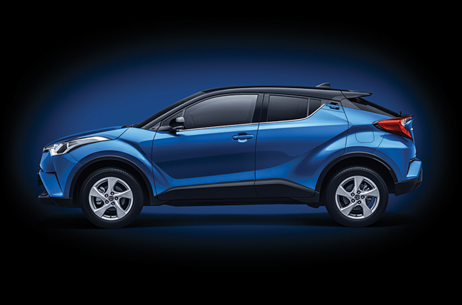 Updated Toyota C-HR