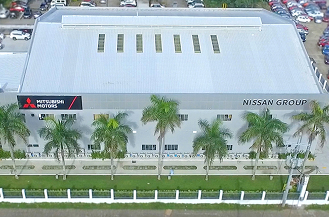 Nissan Mitsubishi training center
