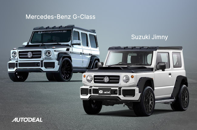 suzuki jimny mercedes-benz G-Class