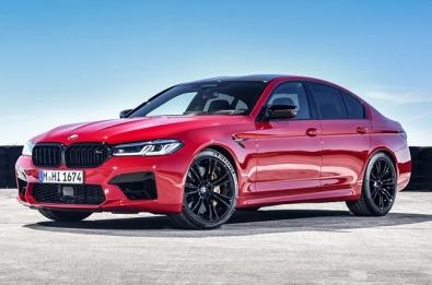 2021 BMW M5 Red