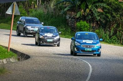 The record-breaking Mitsubishi Mirage Eco Drive Marathon