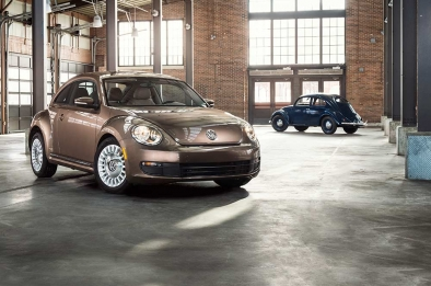 Looking back at three generations of the Volkswagen Beetle