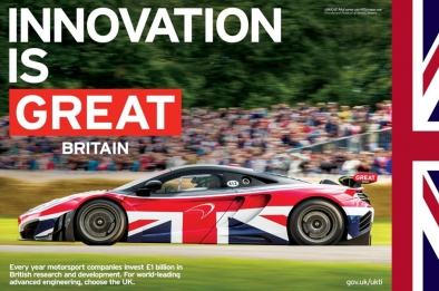 British Embassy to host the GREAT British Auto Show in May