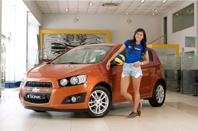 Chevrolet picks volleyball star Alyssa Valdez as Sports and Lifestyle Ambassador for the Sonic