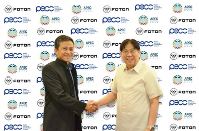 Foton Philippines signs as logistics partner for PPEC and APEC 2015