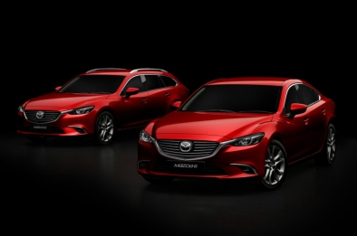 Mazda updates the '6' with new tech; adds Sports Wagon variant