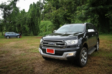 Testing the all-new Ford Everest through the muddy trails of Thailand