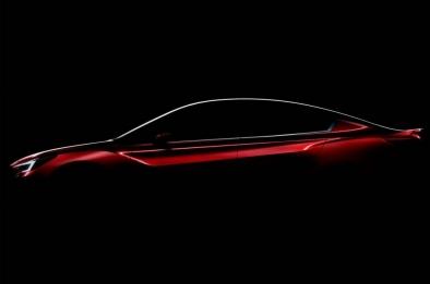 Subaru teases us with a glimpse of the Impreza sedan concept