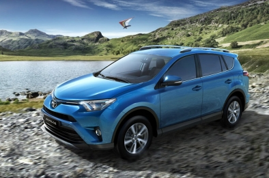 The 2016 Rav4 receives a youthful facelift with added safety features