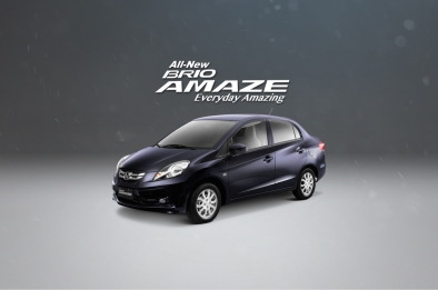 Honda Brio Amaze is fuel-efficient even around the metro