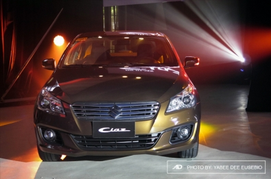 Suzuki Ph enters the subcompact sedan market with all-new Ciaz